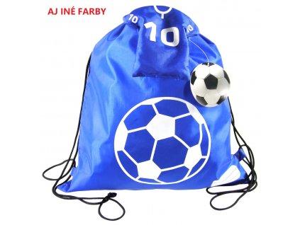 Futbal (D) vrecko na prezuvky skladacie