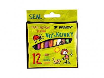 Voskovky 12ks Fandy