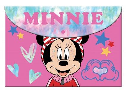 Minnie Mouse (LG) obálka s gombíkom
