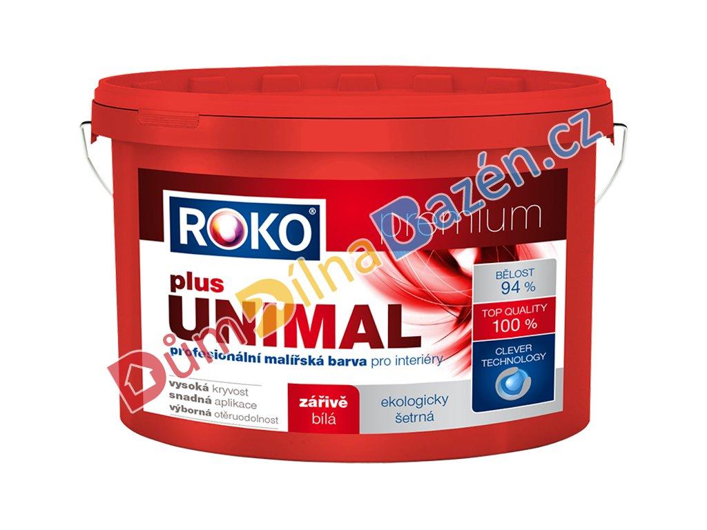 Roko Unimal plus zářivě bílá profesionální malířská barva