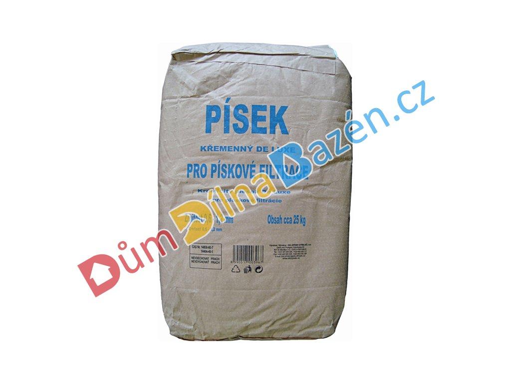 Křemenný filtrační písek De Luxe do pískové filtrace