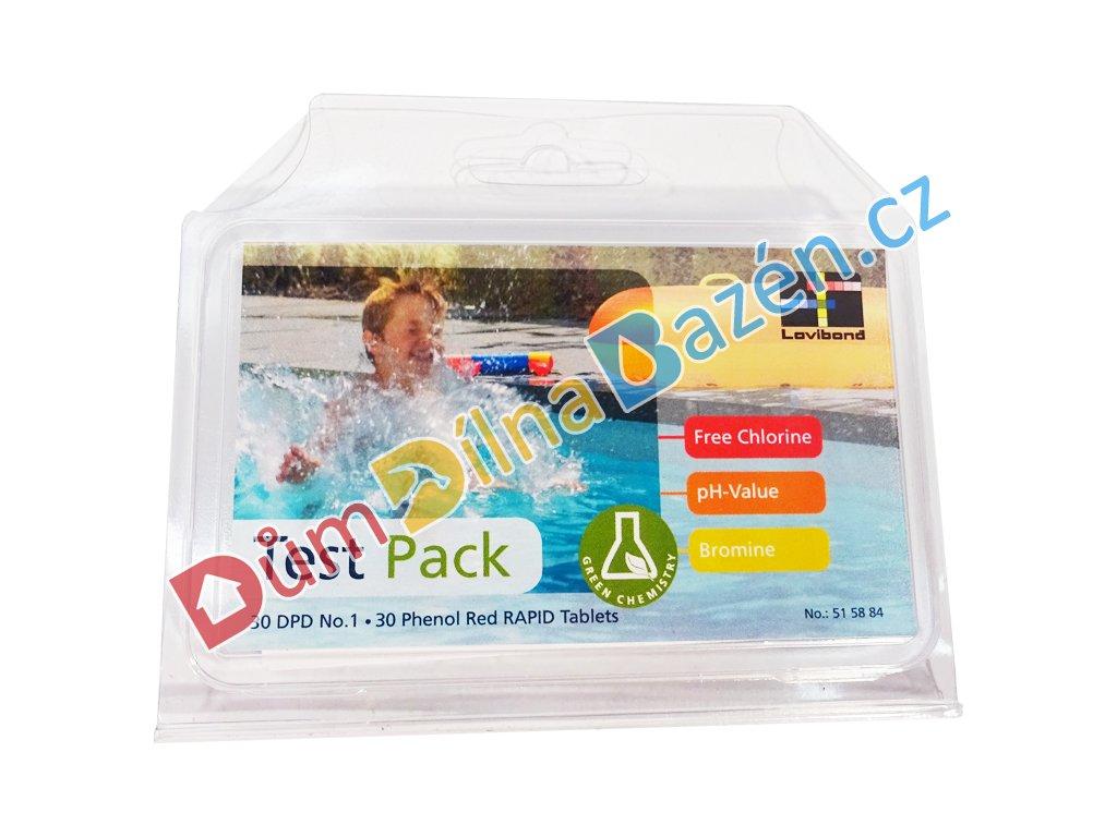 Test Pack - náhradní tablety do testeru Cl/pH