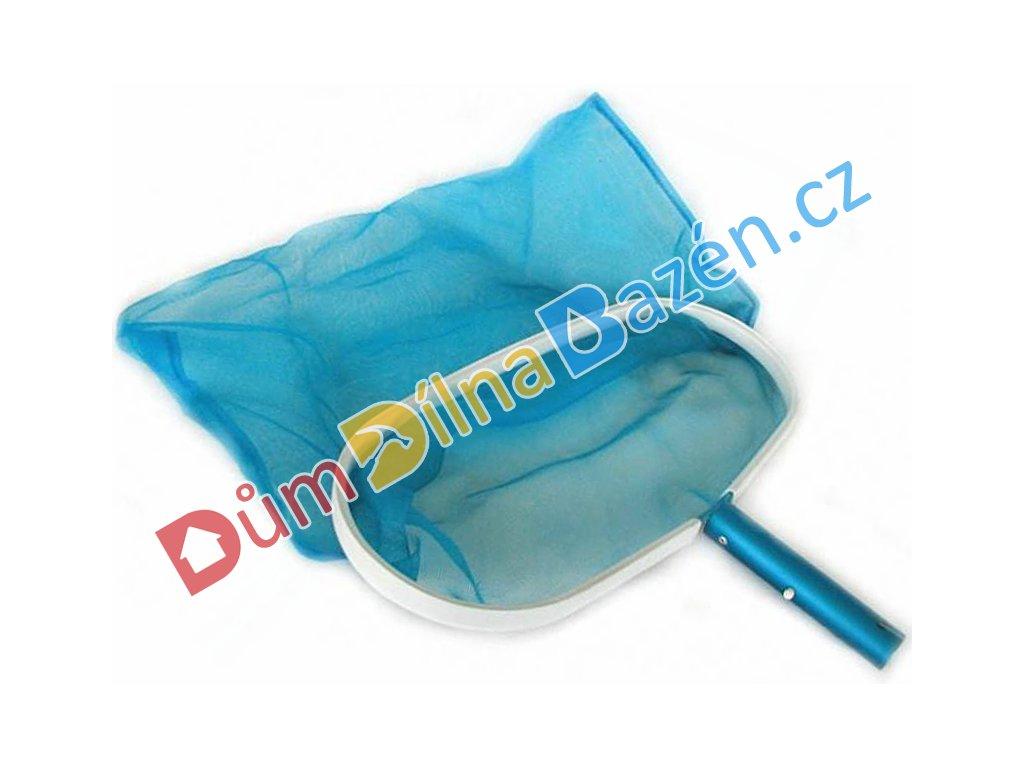 Hliníková síťka na čištění dna bazénu