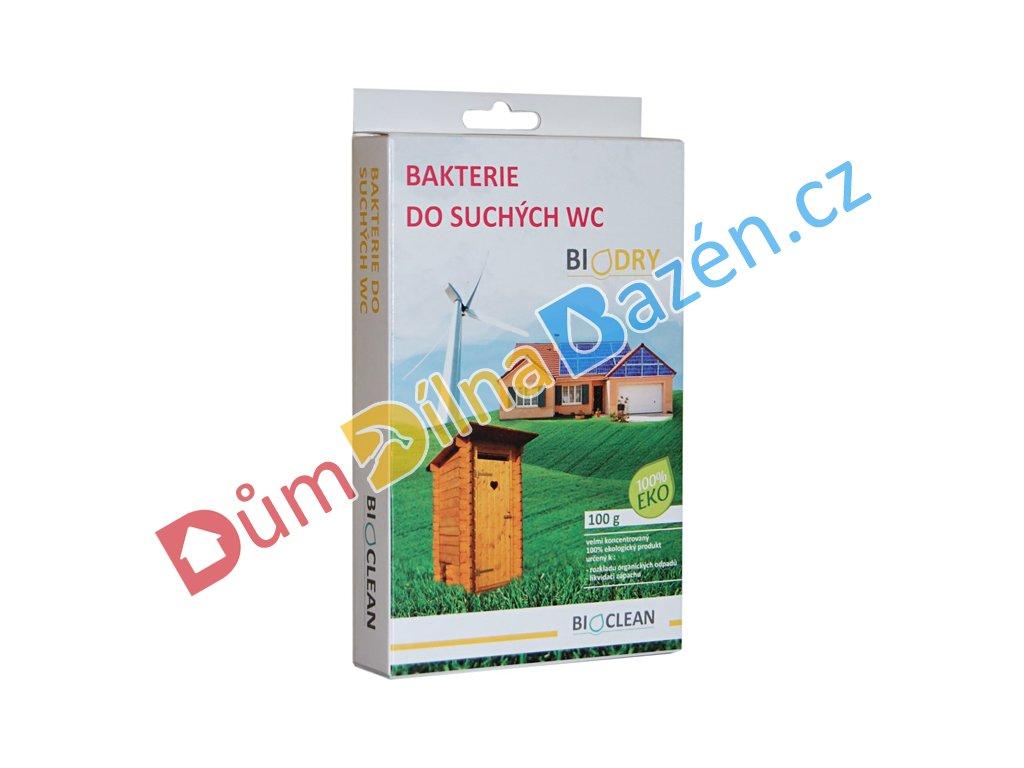 BioDRY bakterie do suchých WC 100g