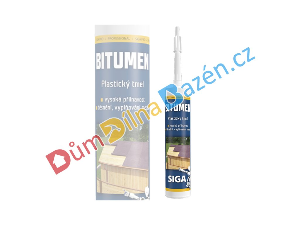 Bitumen Siga PRO 310ml černý