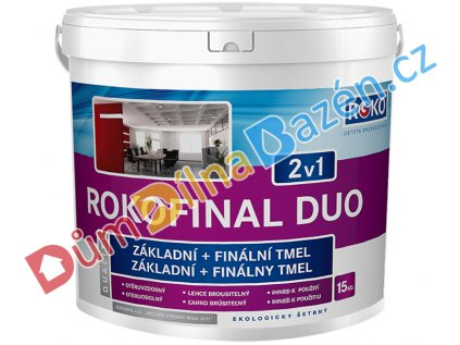 Rokofinal DUO 2v1 základní + finální tmel