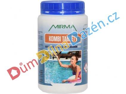 Mirma kombi tablety k úpravě bazénové vody 1kg