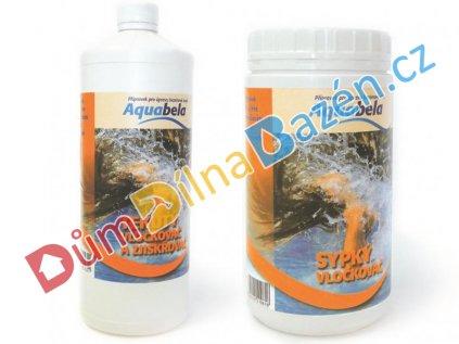 Aquabela vločkovač a zjiskřovač vody v bazénu