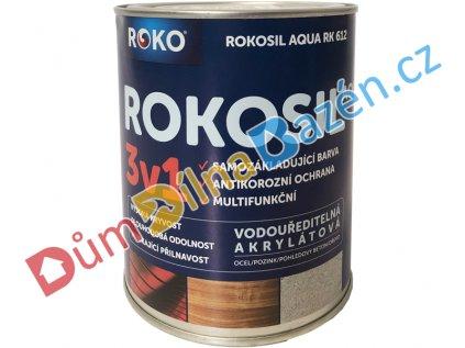 Rokosil Aqua RK612 3v1 samozákladující barva