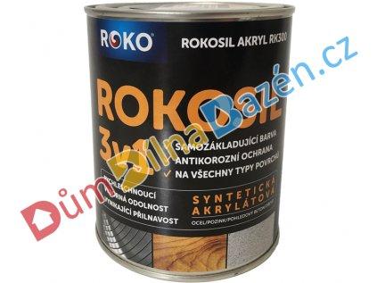 Rokosil Akryl RK300 3v1 samozákladující barva