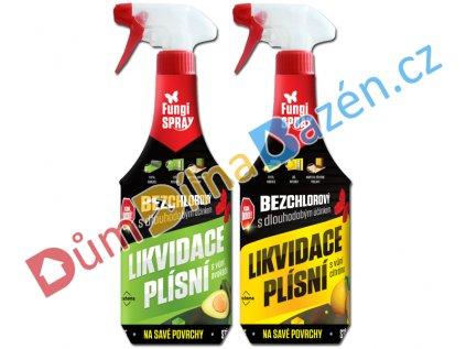 Fungispray likvidace plísní bezchlórový 0,5l