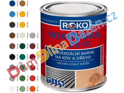 Rokoemail S 2013 vzorník ČSN barev