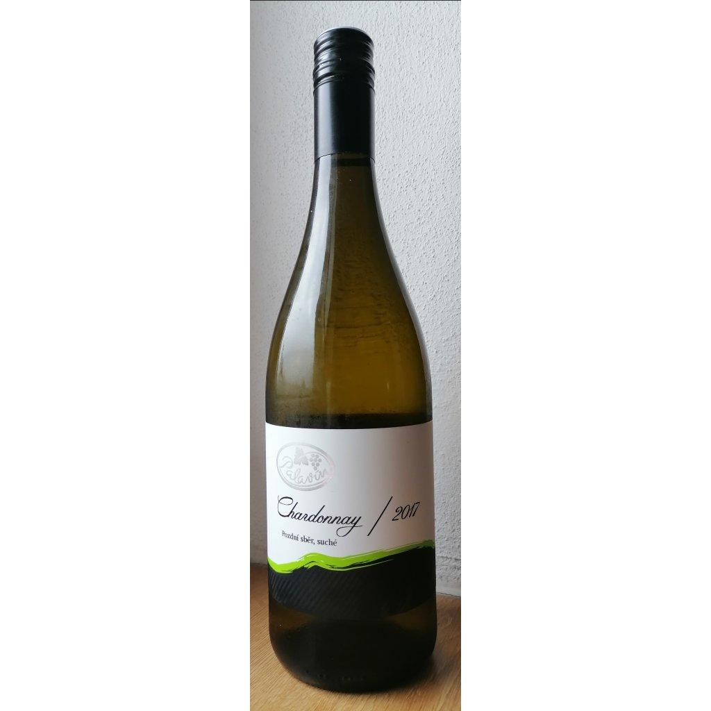 Chardonnay 2017 pozdní sběr, suché