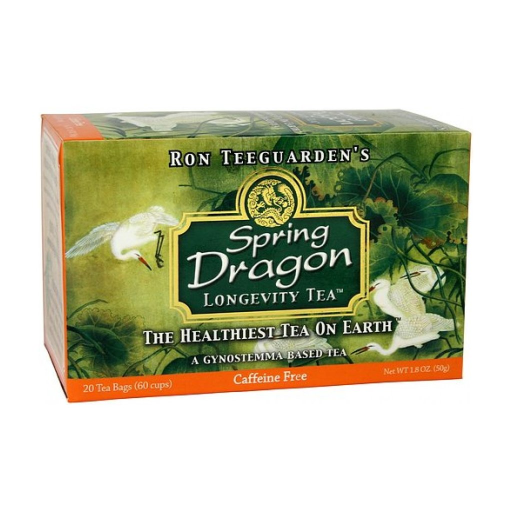 Spring Dragon Longevity Tea - Čaj dlouhověkosti - 20 sáčků