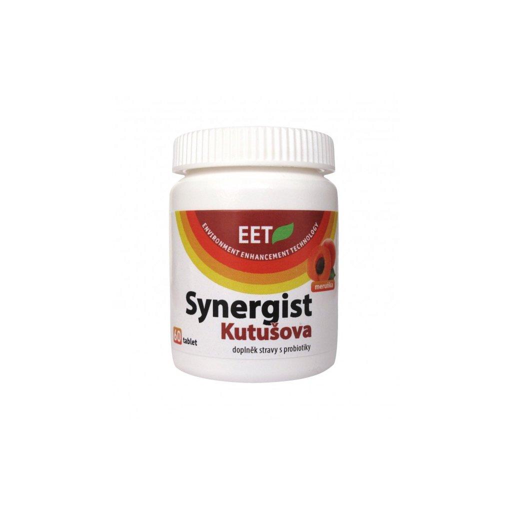 Probiotika Sygergist Kutušova - meruňka, 60 tablet