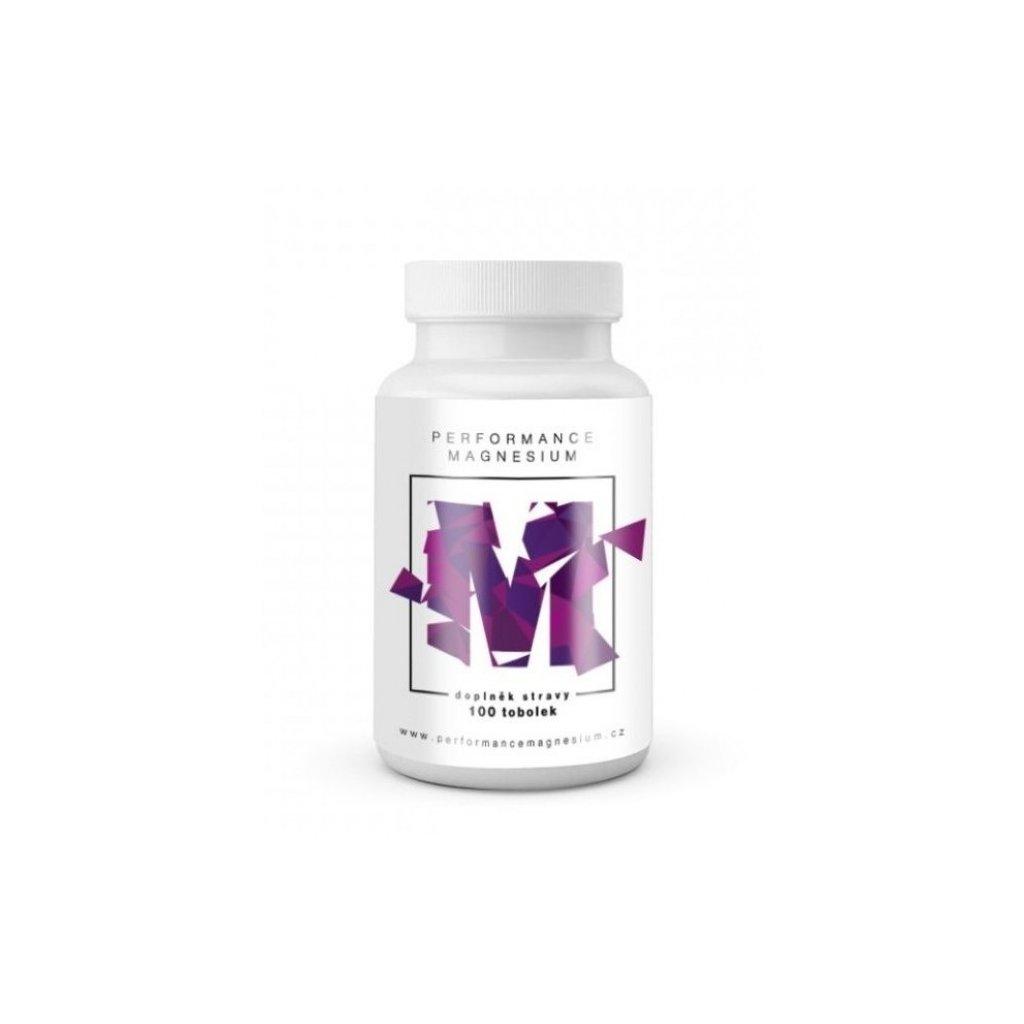 Performance Magnesium 400 mg, 100 tbl. (Hořčík + Vitamín B6)