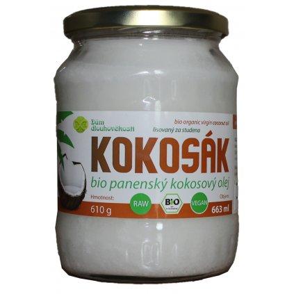Kokosový olej v bio kvalitě, za studena lisovaný