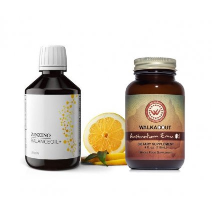 Zinzino Balance oil (300 ml) + Australský Emu olej (118 ml)