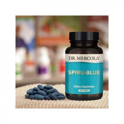 Dr. Mercola - Spirulina Bio, 120 tablet s Astaxanthinem