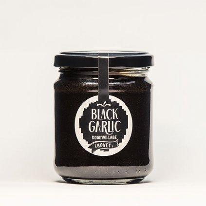 DownVillage - Borovicový med s černým česnekem 200g