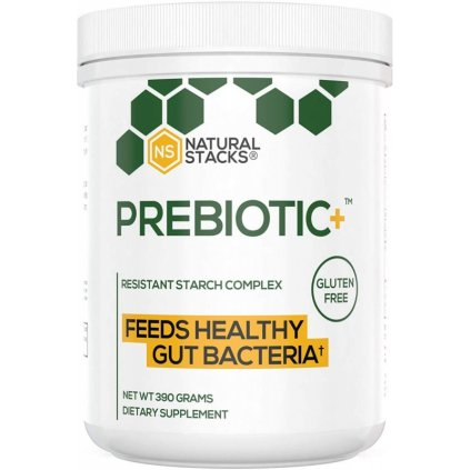 Natural Stacks: Prebiotic+ (454 gramů), prebiotika