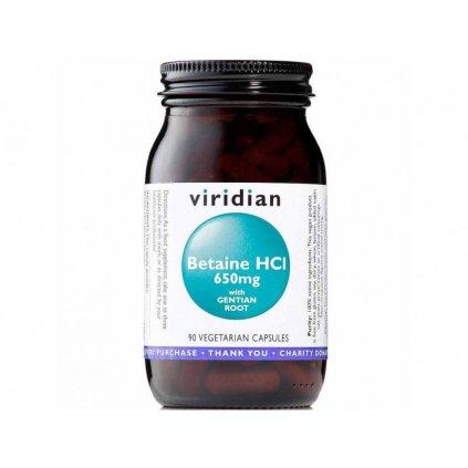 Viridian - Betaine HCL, 90 kapslí
