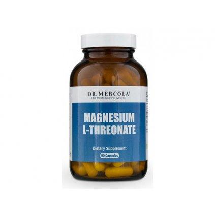 Dr. Mercola - Magnesium treonát, 90 kapslí