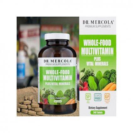 Dr. Mercola - Multivitamín pro dospělé, 240 tablet