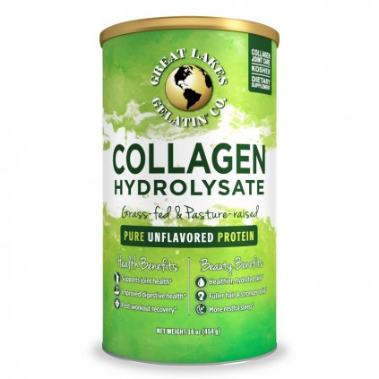 Great Lakes Gelatin: Hydrolyzovaný kolagen 454 g