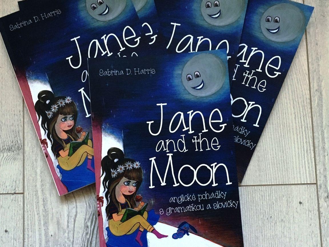 Jane and the Moon -  easy reading pohádky, které pomáhají s angličtinou