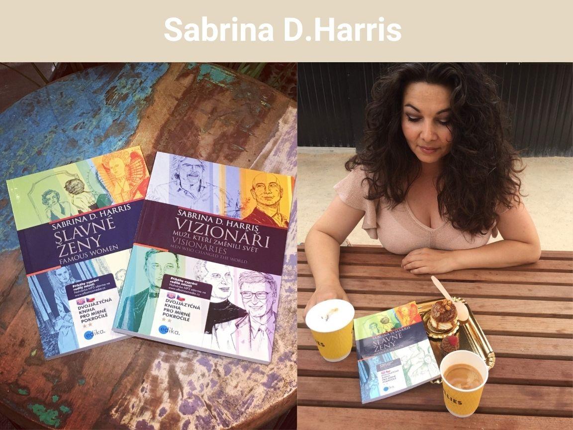 Angličtina se dá učit rychle i zábavně, říká spisovatelka Sabrina D. Harris. Zkusíš její metodu?