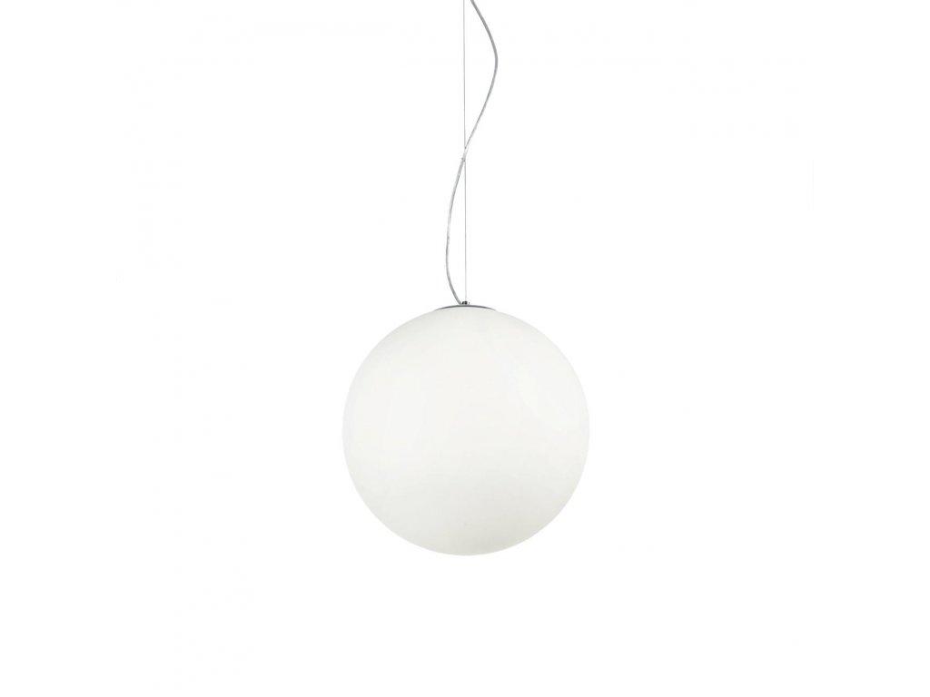 IDEAL LUX 032139 závěsné svítidlo Mapa Bianco SP1 D40 1x60W E27