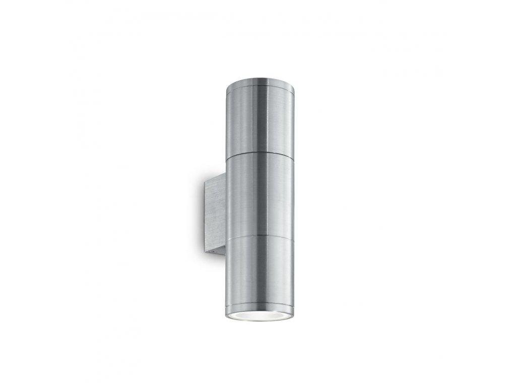 IDEAL LUX 033013 nástěnné svítidlo Gun AP2 Small Alluminio 2x35W GU10 IP54