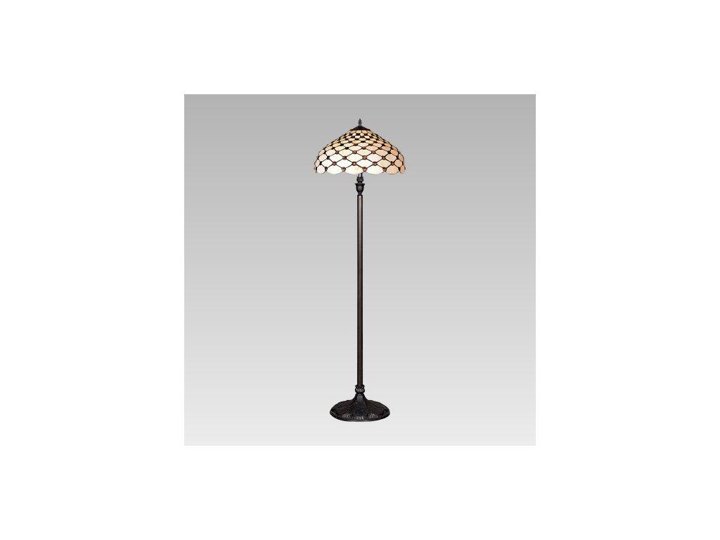 PREZENT 76 lampa stojací Tiffany 2x60W E27