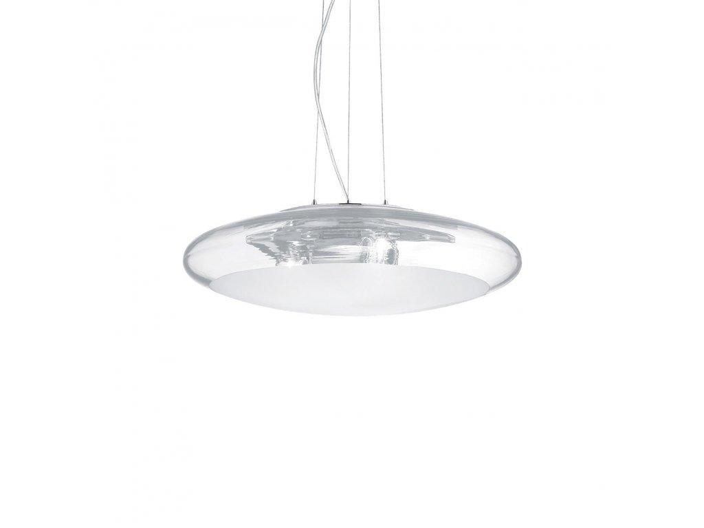 IDEAL LUX 035505 závěsné svítidlo Smarties Clear SP3 D50 3x60W E27