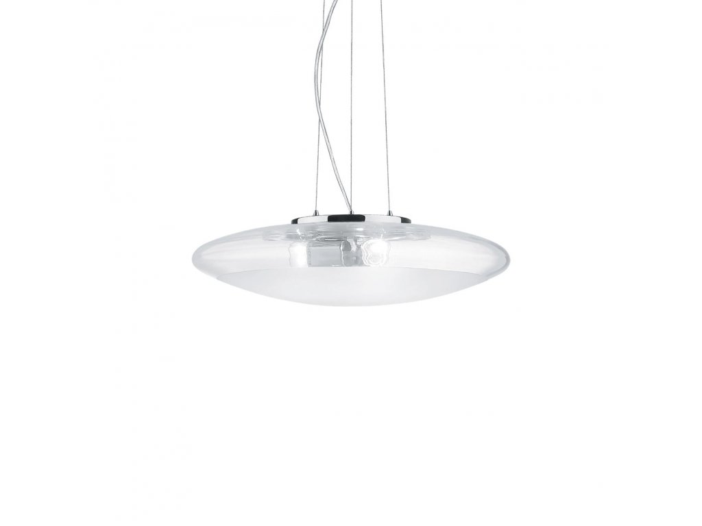 IDEAL LUX 035529 závěsné svítidlo Smarties Clear SP3 D40 3x60W E27