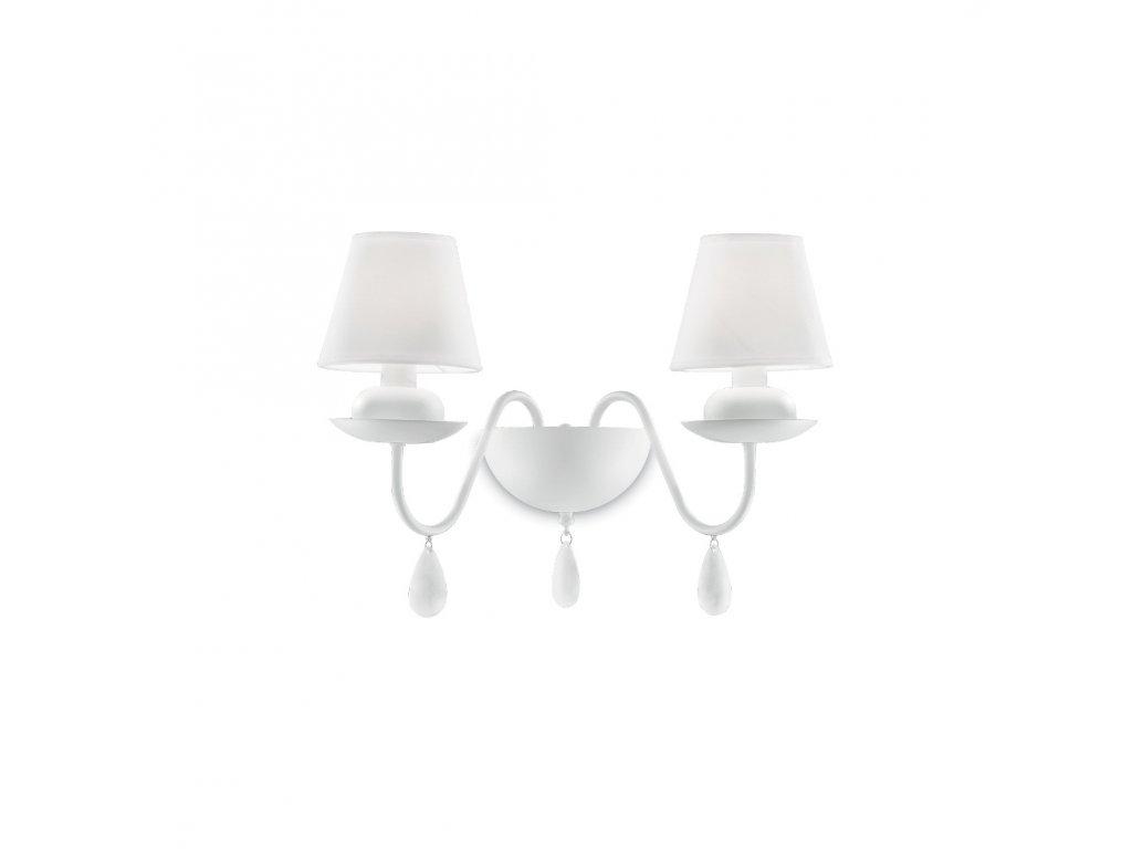 IDEAL LUX 035598 nástěnné svítidlo Blanche AP2 2x40W E14