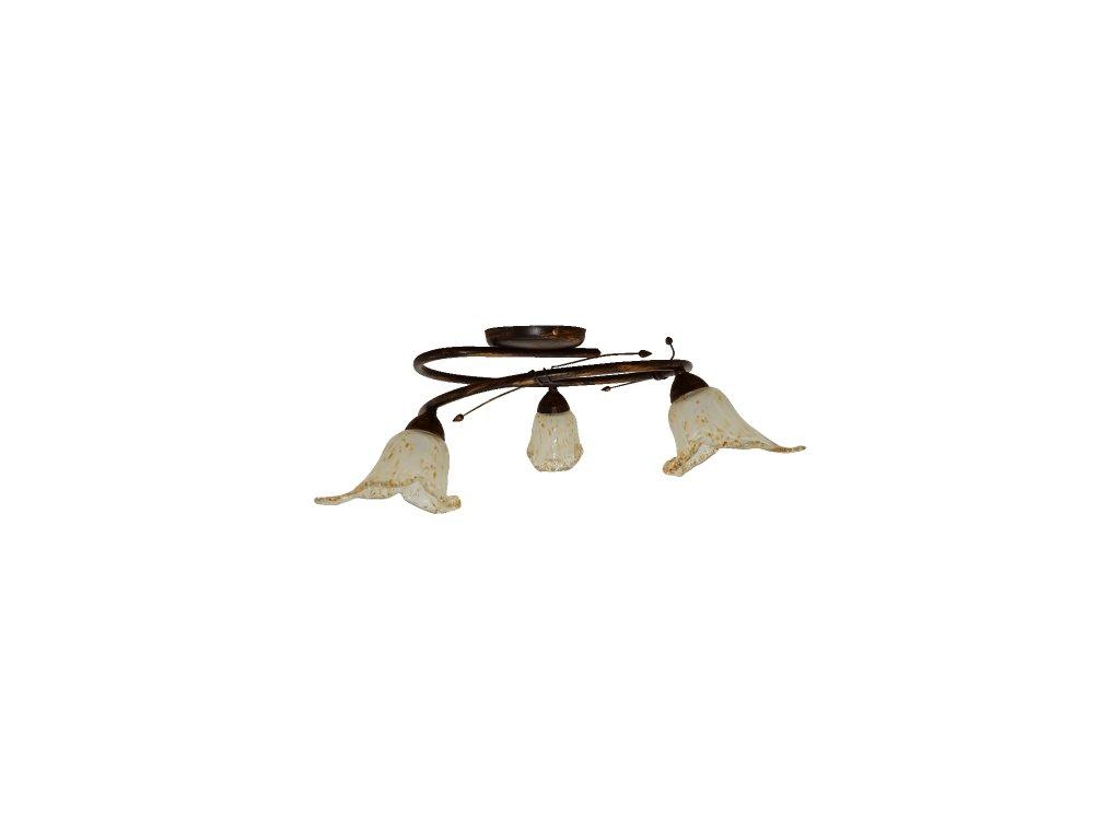 PREZENT 93067 stropní svítidlo Roto 3x40W E14