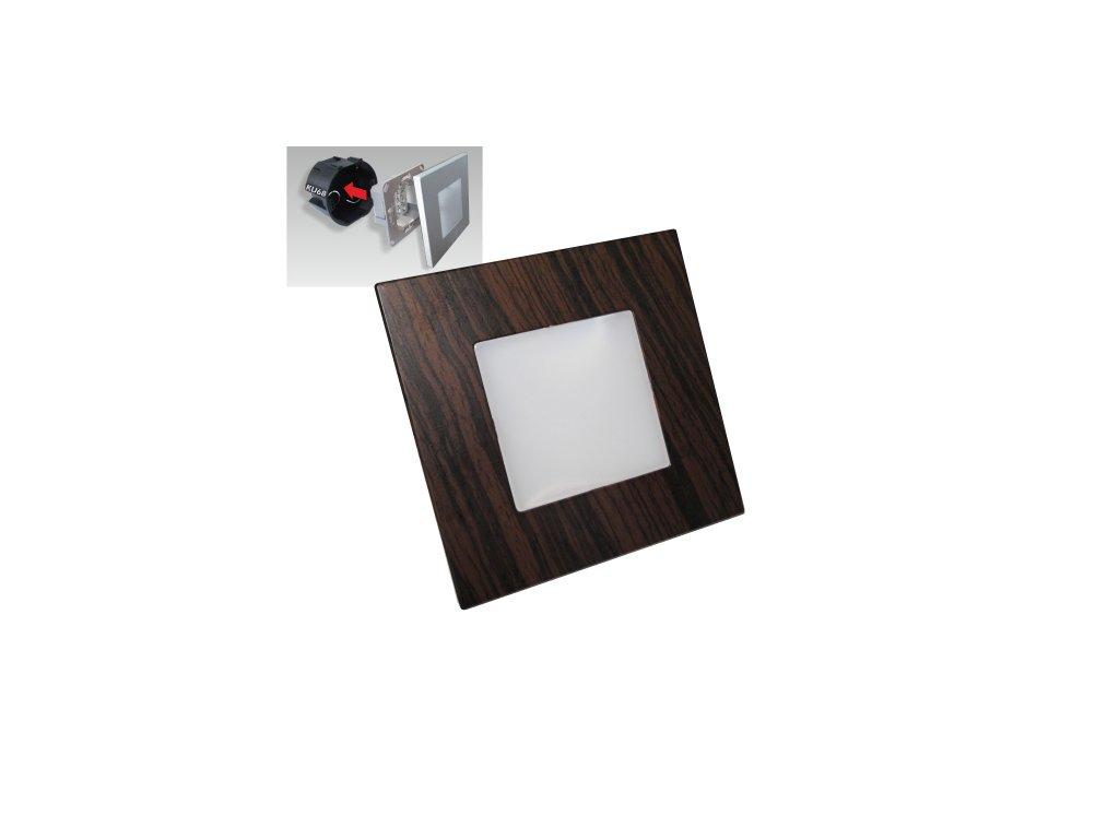 EMITHOR 48306 orientační schodišťové LED svítidlo Step Light 1x1W 4000K