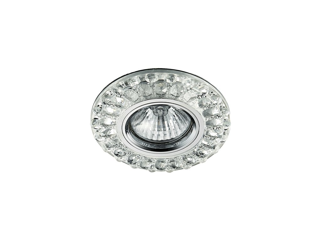 EMITHOR 71093 vestavná křišťálová bodovka Glass Fix 1x50W+1x3W GU10