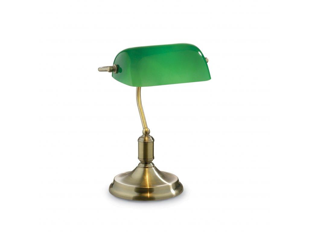 IDEAL LUX 045030 bankéřská lampa Lawyer TL1 Brunito 1x60W E27