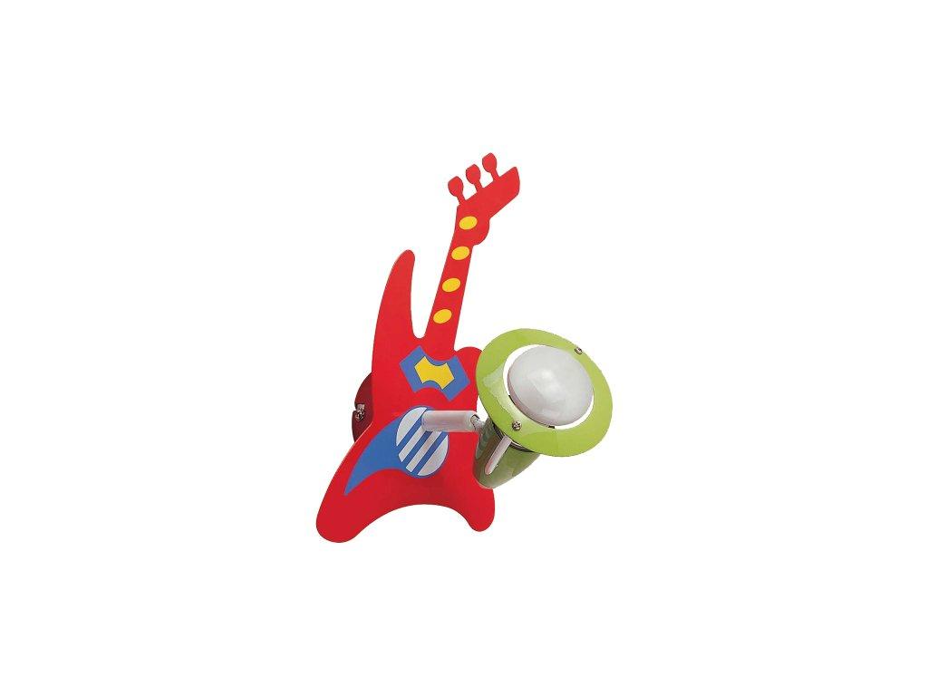 PREZENT 28003 dětské svítidlo Guitar 1x40W E14