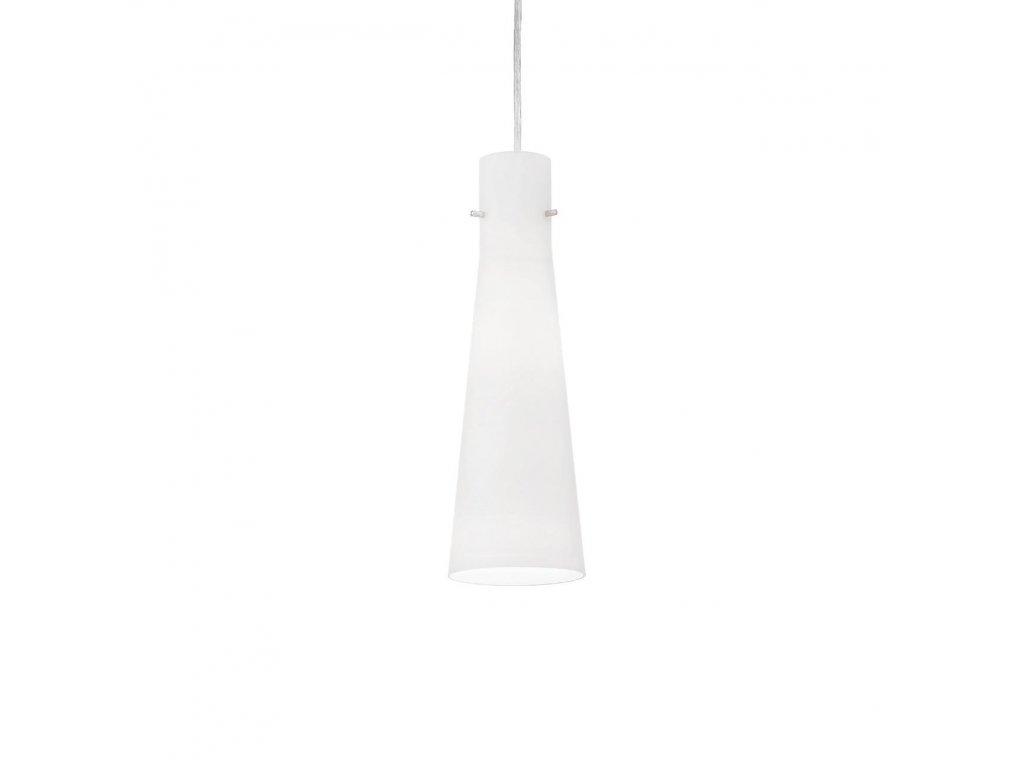 IDEAL LUX 053448 závěsné svítidlo Kuky Bianco SP1 1x60W E27