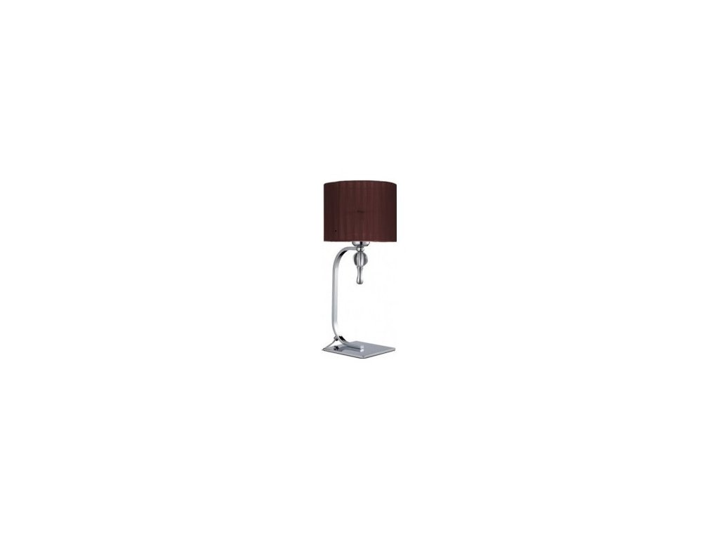 AZZARDO - Impress table (brown) 2903
