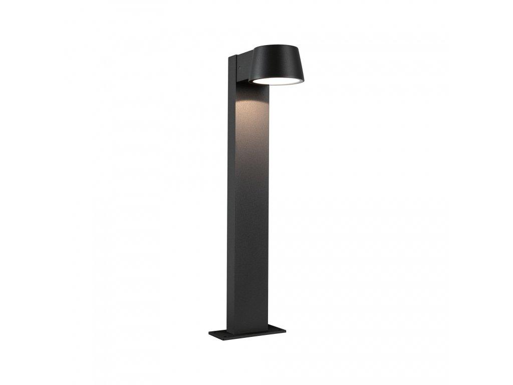 PAULMANN - Venkovní stojací svítidlo Capea černá IP44 6W 230V teplá bílá, P 94454