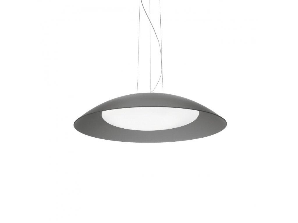 IDEAL LUX 066592 závěsné svítidlo Lena SP3 D64 Grigio 3x60W E27