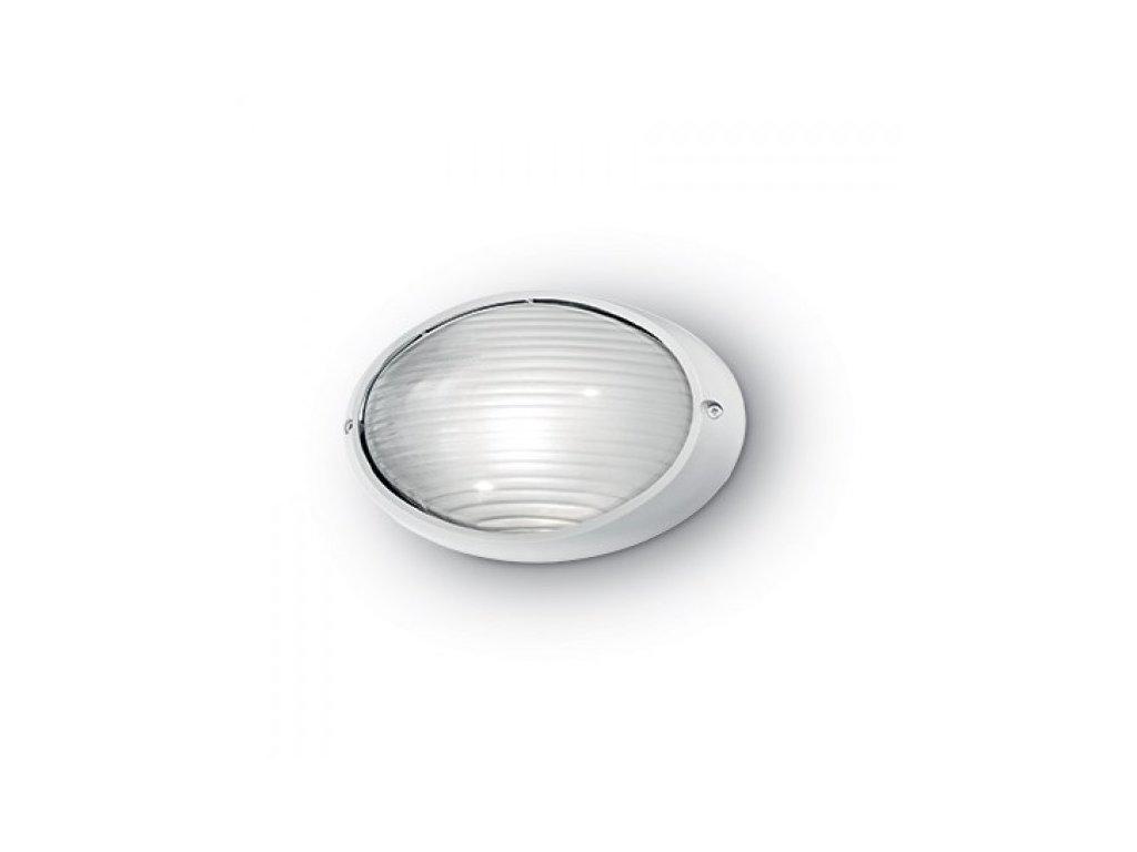 IDEAL LUX 066882 venkovní svítidlo Mike 50 AP1 Big Bianco 1x60W E27 IP54