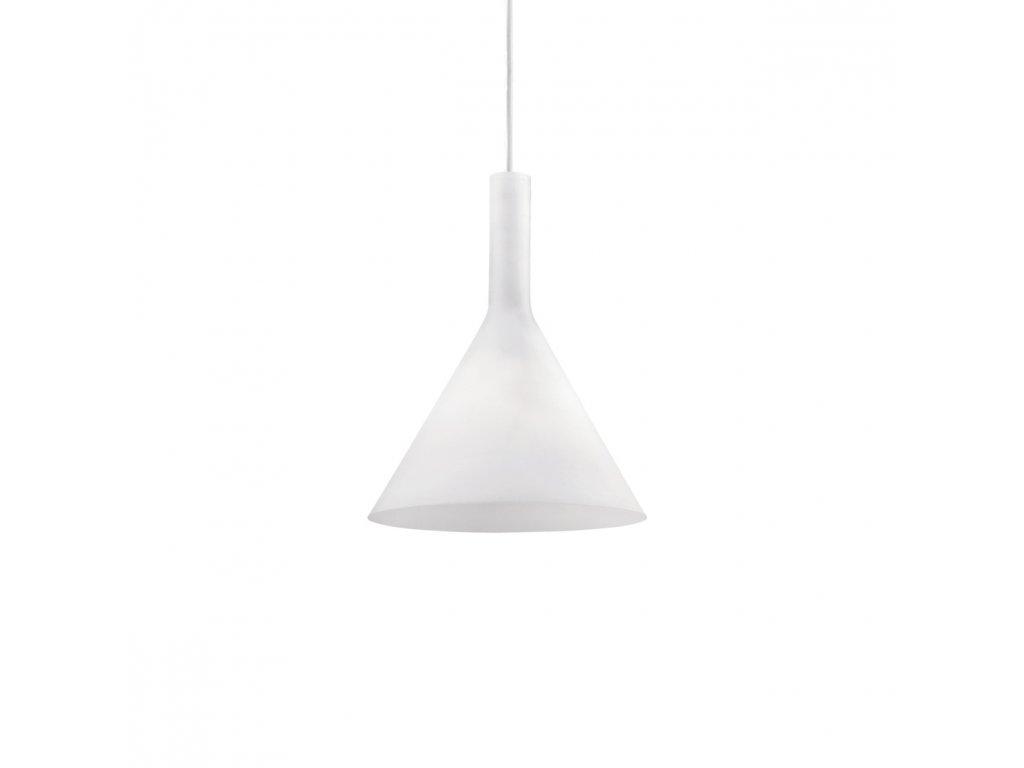 IDEAL LUX 074337 závěsné svítidlo Cocktail SP1 Small Bianco 1x40W E14