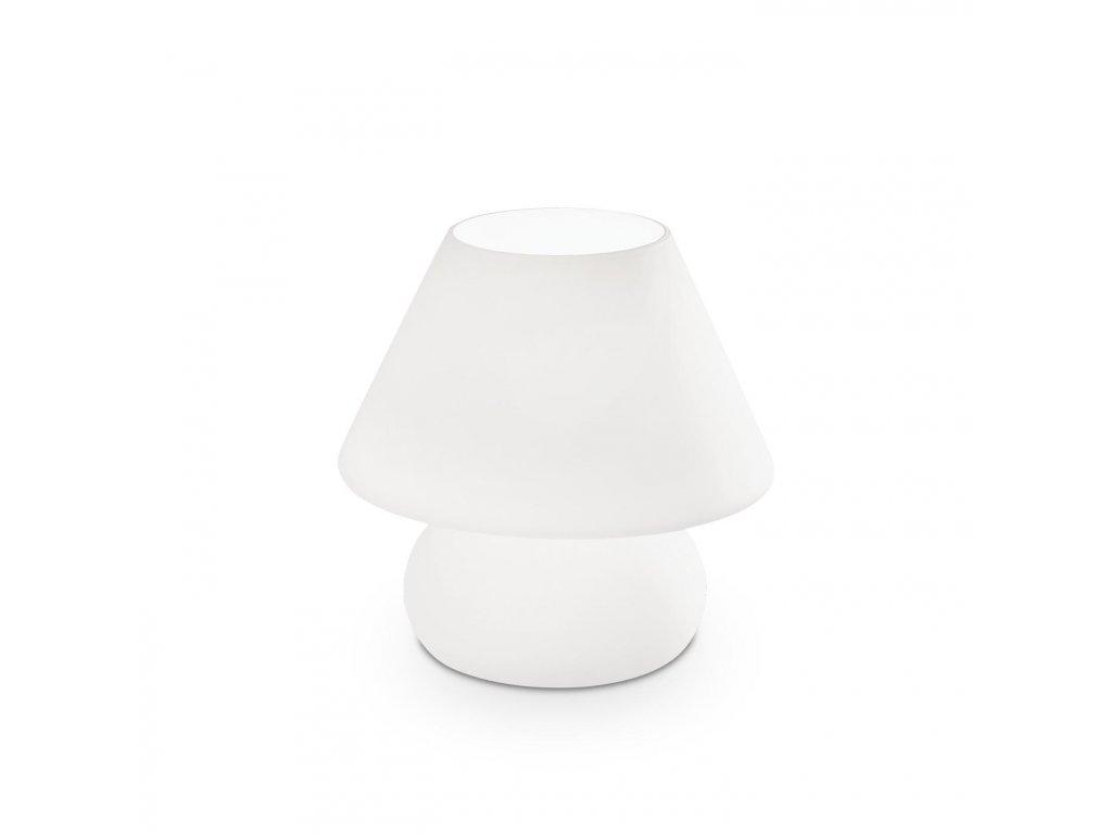 IDEAL LUX 074702 stolní lampa Prato TL1 Big Bianco 1x60W E27