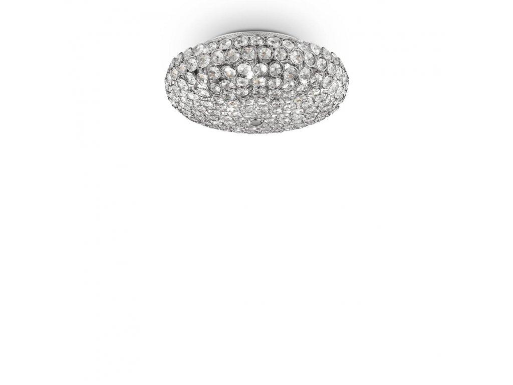 IDEAL LUX 075419 svítidlo King PL5 Cromo 5x40W G9